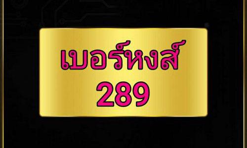 เบอร์ 289